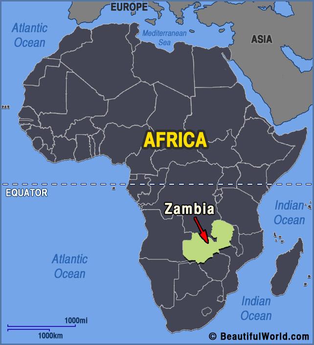zambia africa map – Markpedder's Weblog
